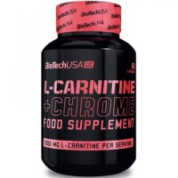 L-Carnitine + Chrome for Her BioTech USA (60 капс)