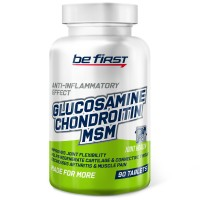 Glucosamine Chondroitin MSM Tablets Be First  (90 таб)