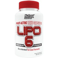 LIPO-6 Liquid Capsules Nutrex Research (120 капс)