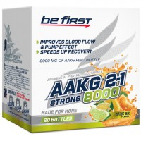 Arginine AKG 2:1 (AAKG) Strong 8000 mg Be First