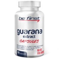 Guarana Extract Capsules Be First (60 капс)