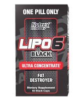LIPO 6 Black Ultra Concentrate Nutrex Research (60 капс)